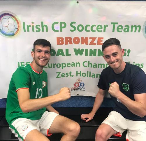 Limerick's Aaron Tier's goal helps Ireland earn IFCPF European Championship bronze