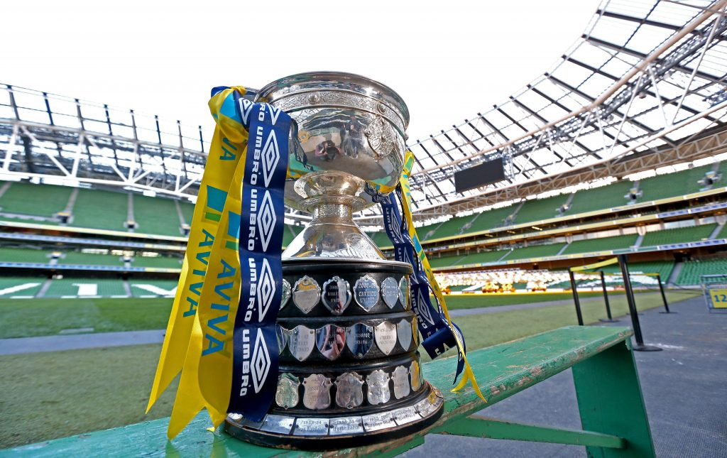 FAI Junior Cup Quarter Final Draw with Aviva and Umbro 11/3/2013 The FAI Junior Cup Mandatory Credit ©INPHO/Ryan Byrne