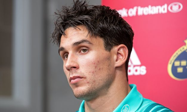 Carbery settling into life at Munster