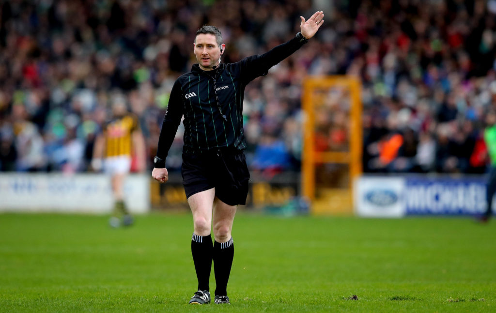 Allianz Hurling League Division 1A, Nowlan Park, Kilkenny 17/2/2019 Kilkenny vs Limerick Referee Fergal Horgan  Mandatory Credit ©INPHO/Ryan Byrne