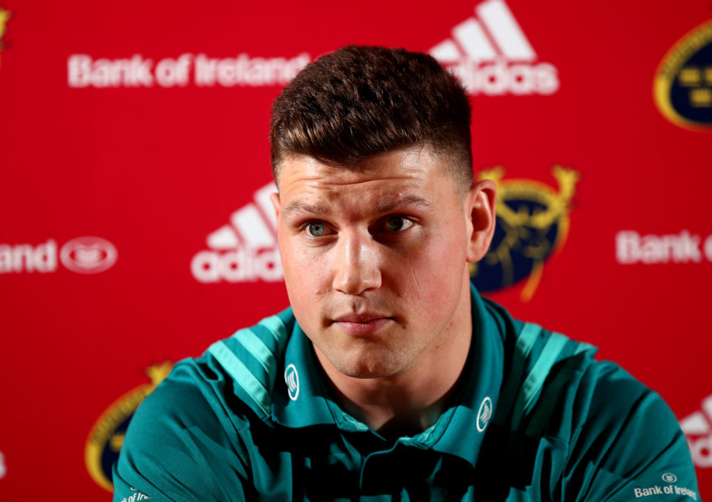 Munster Rugby Press Conference, UL, Limerick 18/2/2019 Fineen Wycherley Mandatory Credit ©INPHO/James Crombie