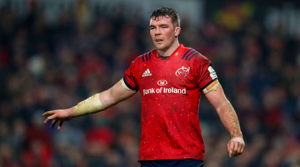 Heineken Champions Cup Round 6, Thomond Park, Limerick 19/1/2019 Munster vs Exeter Chiefs Munster's Peter O'Mahony Mandatory Credit ©INPHO/Tommy Dickson