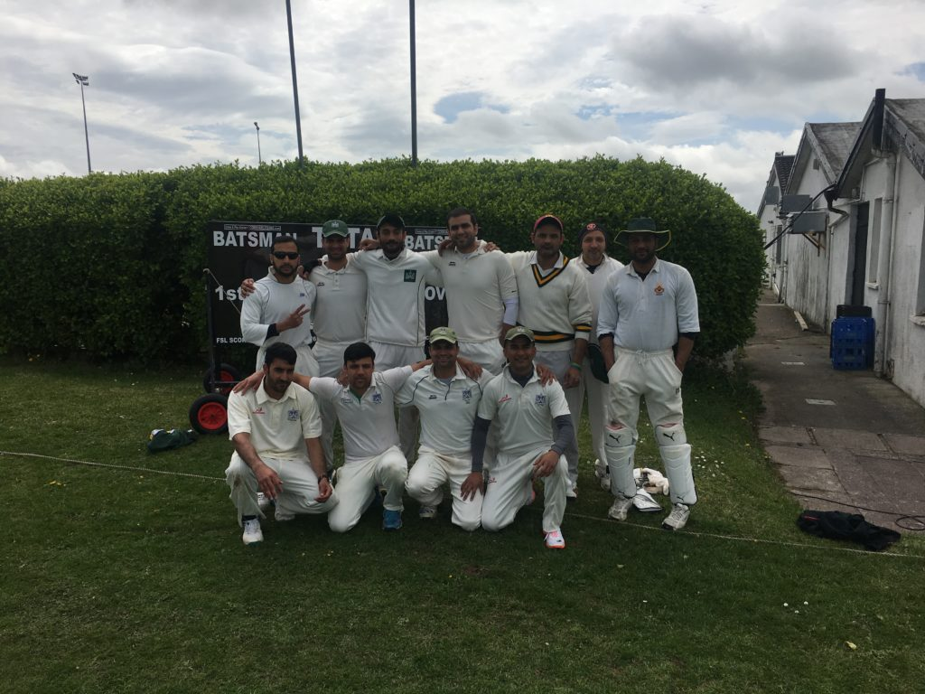 The Limerick Cricket Club side that went down to Cork Harlequins