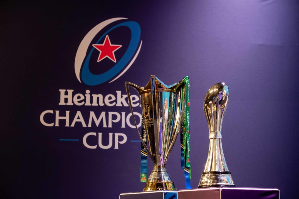 REPRO FREE***PRESS RELEASE NO REPRODUCTION FEE*** EDITORIAL USE ONLY 2019-2020 EPCR European Rugby Heineken Champions Cup & European Rugby Challenge Cup Pool Draws, Centre de Congrès Beaulieu, Lausanne, Switzerland 19/6/2018 A view of the Heineken Champions Cup and European Rugby Challenge Cup ahead of today's draw Mandatory Credit ©INPHO/Morgan Treacy