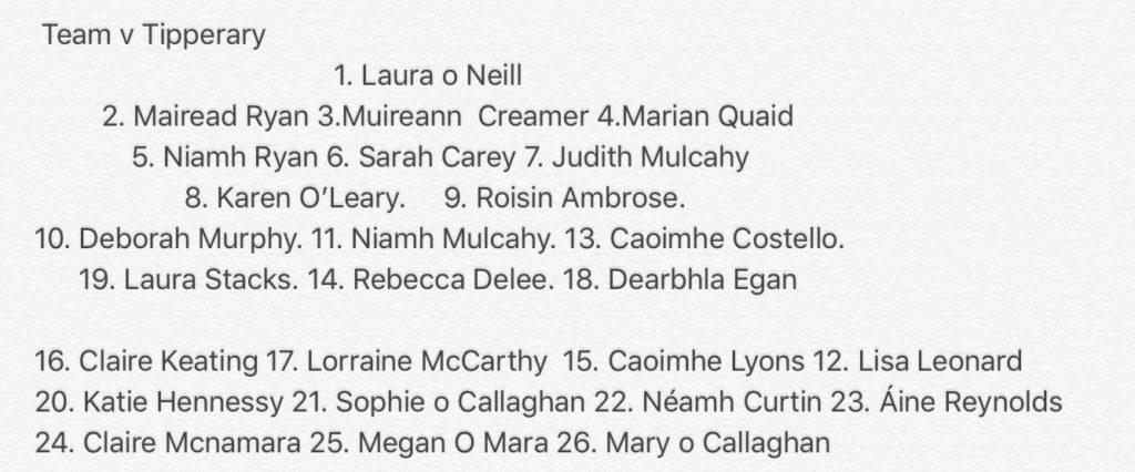 Declan Nash names side for All-Ireland quarter-final clash ...