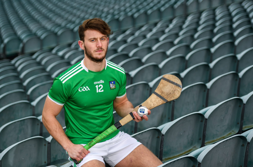 27 January 2020; Tom Morrissey of Limerick stands for a portrait during a media event at the LIT Gaelic Grounds in advance of the Allianz Hurling League Division 1 Group A Round 2 match between Limerick and Galway on Sunday. Photo by Harry Murphy/Sportsfile