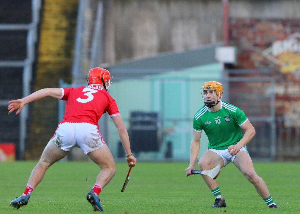 Adam English takes a look at the posts in the Munster Minor Hurling semi-final between Limerick and Cork in Semple Stadium. CREDIT: Sport Action Photography
